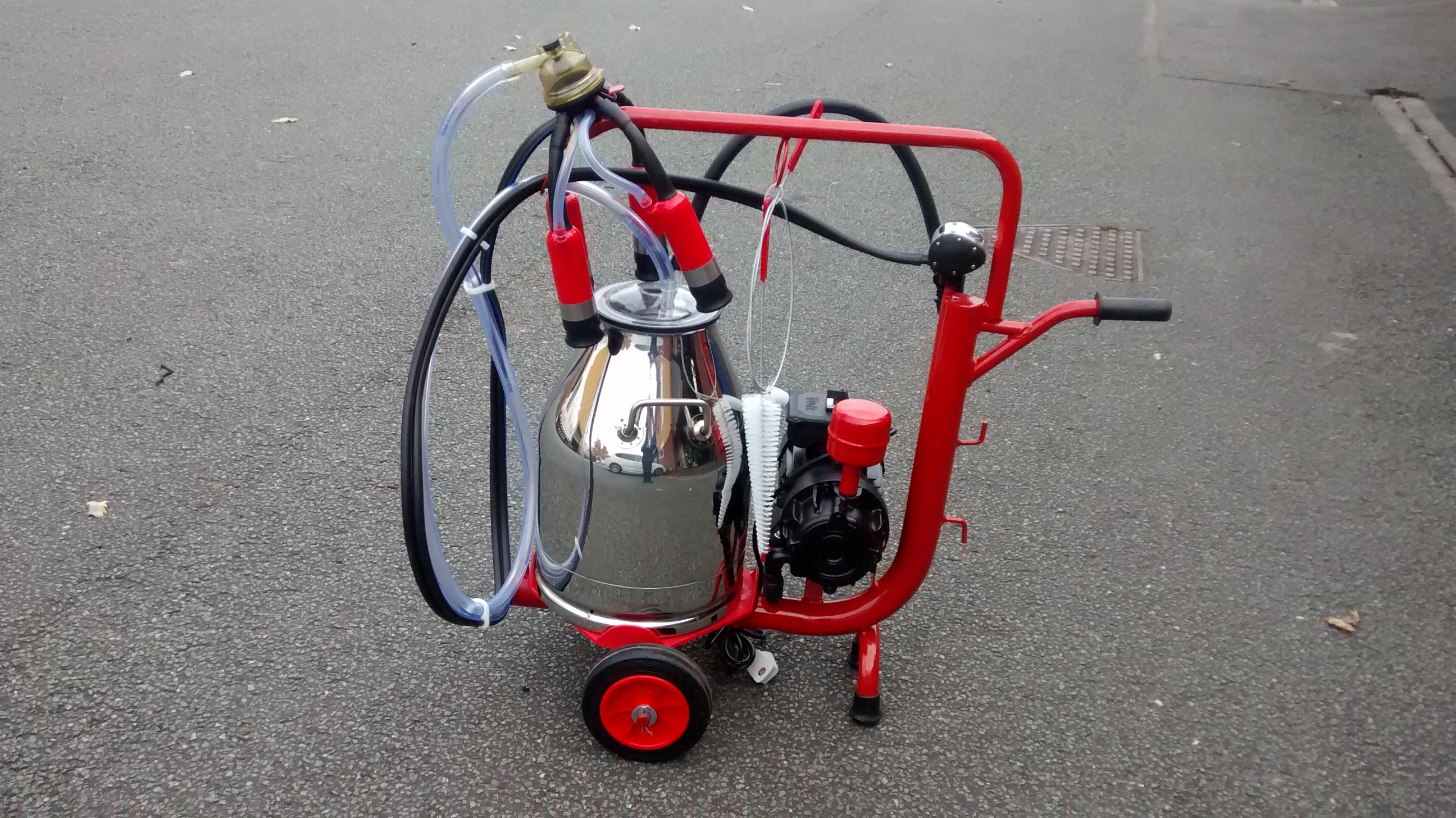 Portable Milker