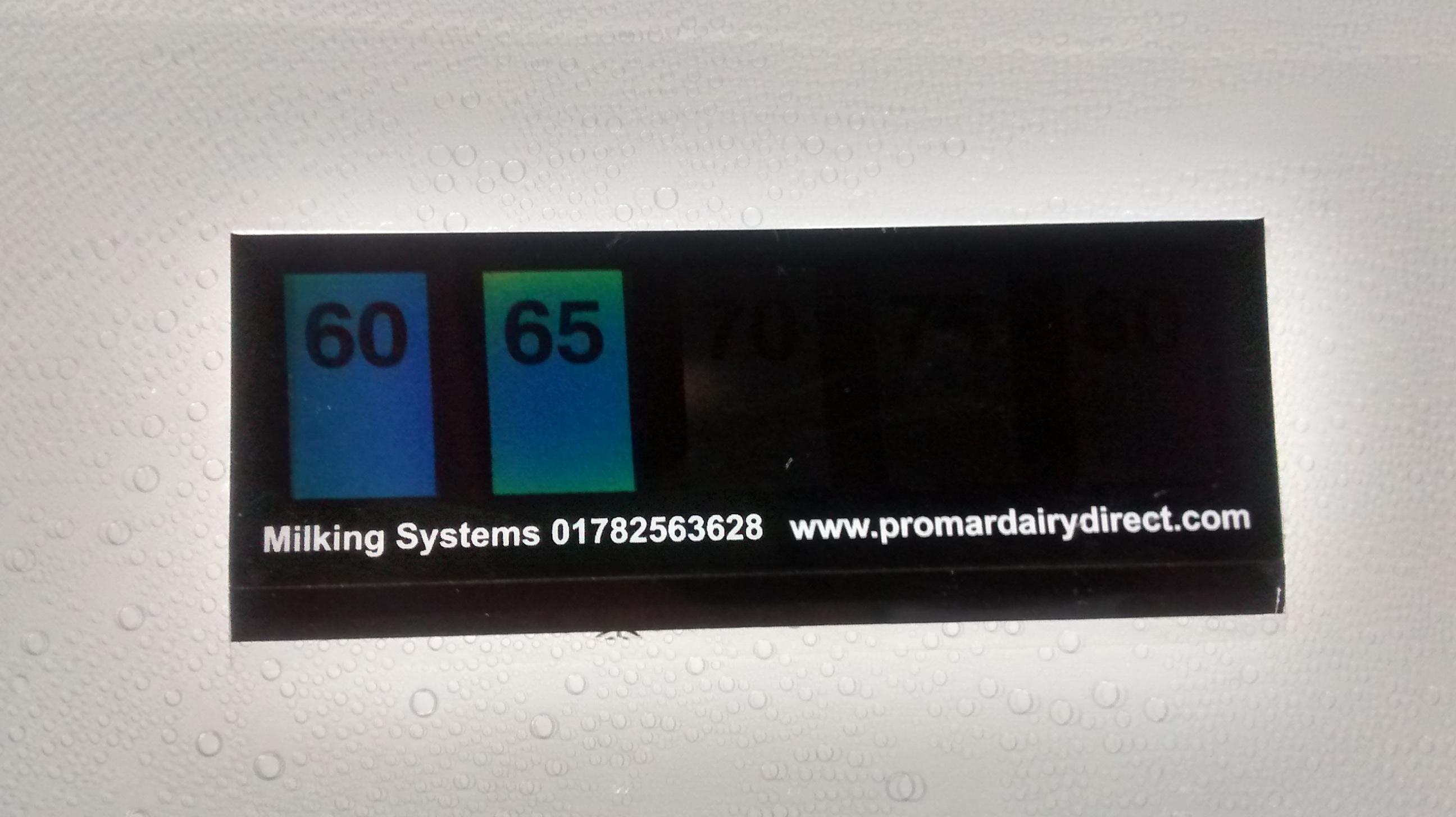 Wash Temperature Indicator Strips